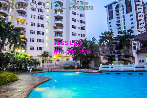 For Sale Condominium at One Ampang Avenue, Ampang Freehold Fully Furnished 4R/2B 470k