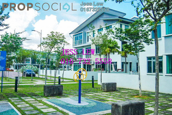 For Sale Superlink at D'Island, Puchong Freehold Semi Furnished 5R/5B 980k