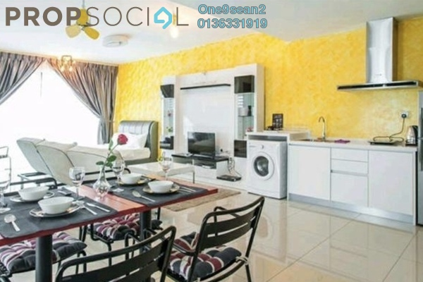 For Rent SoHo/Studio at Trefoil, Setia Alam Freehold Fully Furnished 1R/1B 1.9k