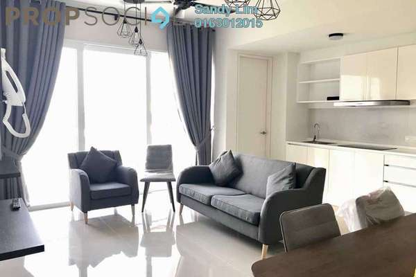 For Rent Condominium at Verdi Eco-dominiums, Cyberjaya Freehold Fully Furnished 2R/2B 2.3k