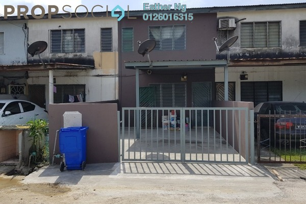 For Rent Terrace at Taman Alam Indah, Shah Alam Freehold Unfurnished 2R/1B 1.1k