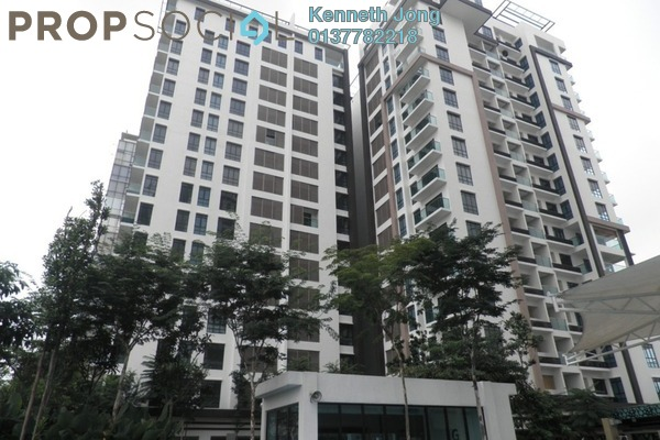 For Rent Serviced Residence at Isola, Subang Jaya Freehold Fully Furnished 2R/2B 3.5k