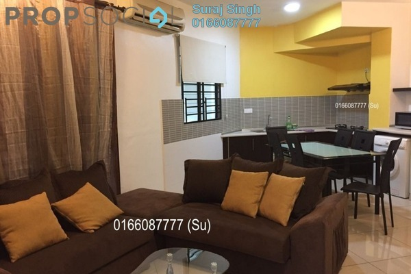 For Rent Serviced Residence at Saujana Residency, Subang Jaya Freehold Fully Furnished 2R/1B 2.8k