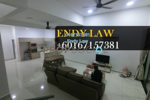 For Sale Terrace at Canal Gardens, Kota Kemuning Freehold Fully Furnished 4R/4B 830k