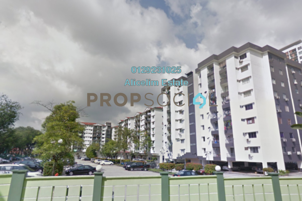 For Sale Apartment at Brem Park, Kuchai Lama Freehold Semi Furnished 3R/2B 320k