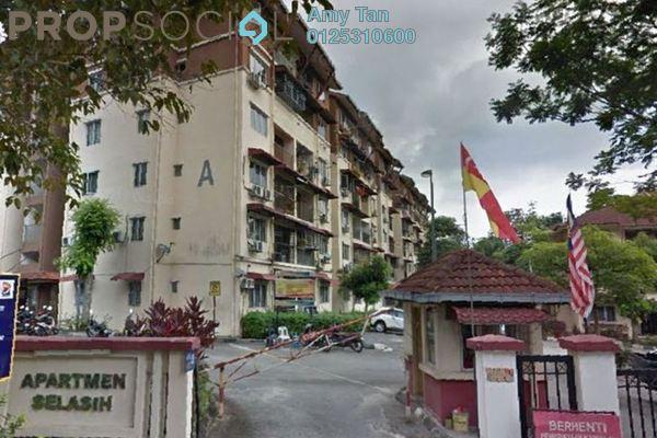 For Sale Apartment at Selasih Apartment, Damansara Damai Leasehold Unfurnished 0R/0B 250k
