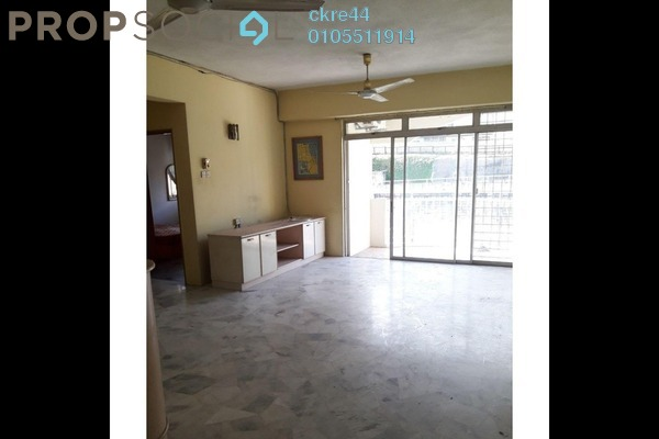 For Sale Condominium at Intan Apartment, Setiawangsa Freehold Fully Furnished 3R/2B 329k