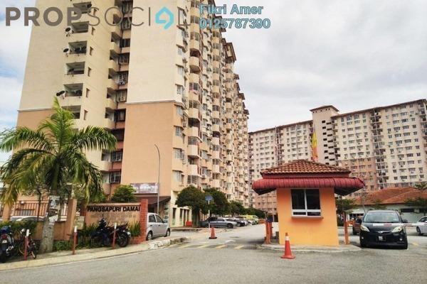 For Sale Apartment at Damai Apartment U4, Shah Alam Leasehold Unfurnished 3R/2B 280k