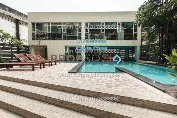 For Sale Serviced Residence at 38 Bidara, Bukit Ceylon Freehold Unfurnished 2R/2B 514k