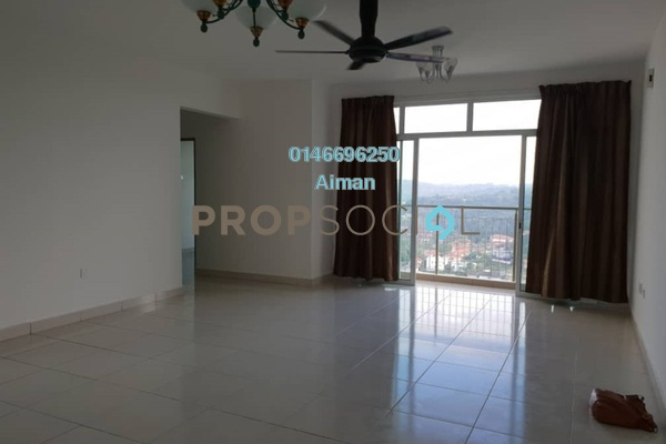 For Rent Condominium at Puncak 7 Residences, Shah Alam Freehold Unfurnished 3R/3B 1.8k