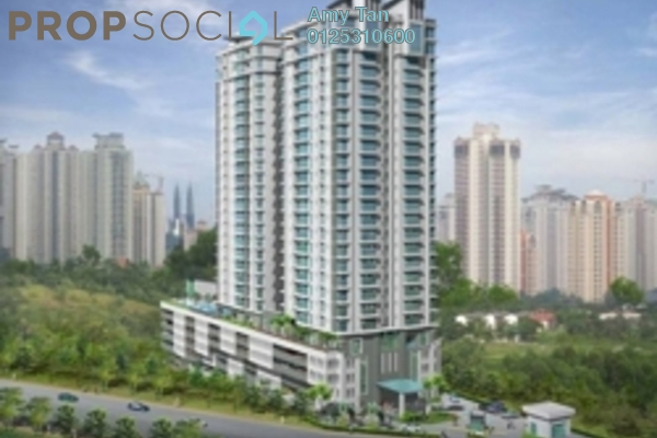 For Sale Condominium at Aston Kiara 3, Mont Kiara Freehold Unfurnished 0R/0B 680k