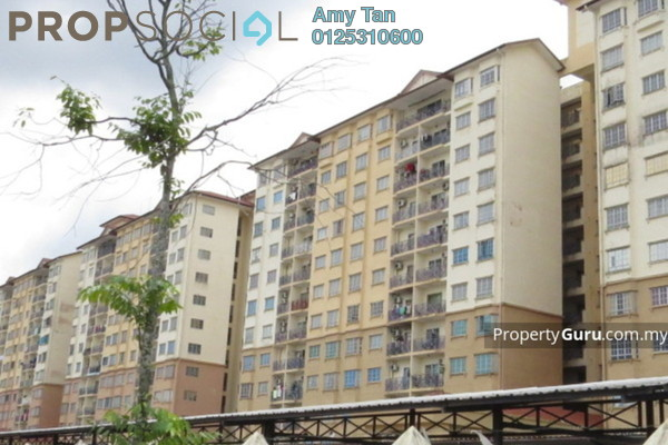 For Sale Apartment at Impian Senibong, Bandar Baru Permas Jaya Freehold Unfurnished 0R/0B 340k