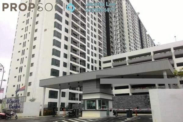 For Sale Condominium at D'Secret Garden, Johor Bahru Freehold Semi Furnished 3R/3B 365k
