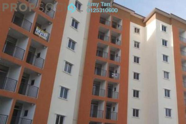 For Sale Apartment at Ria Apartment, Kepong Freehold Unfurnished 0R/0B 251k