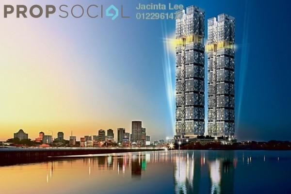 For Sale Condominium at Setia Sky 88, Johor Bahru Freehold Semi Furnished 2R/1B 438k