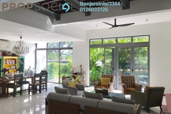 For Sale Terrace at The Breezeway, Desa ParkCity Freehold Semi Furnished 3R/5B 2.89m
