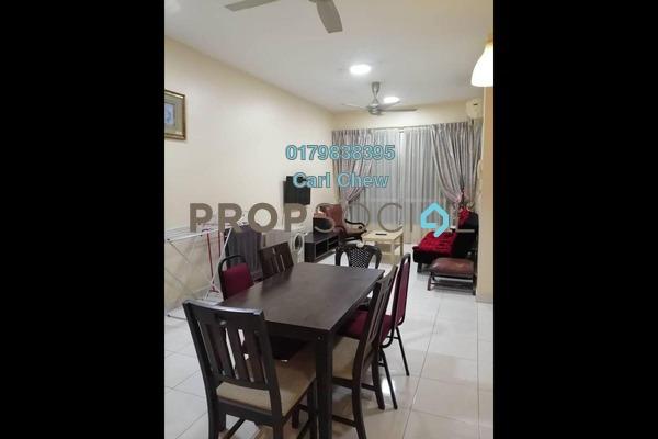 For Rent Apartment at Casa Tiara, Subang Jaya Freehold Fully Furnished 3R/2B 2.1k