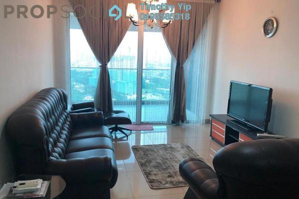 For Sale Condominium at Kiara Residence 2, Bukit Jalil Freehold Fully Furnished 4R/3B 598k