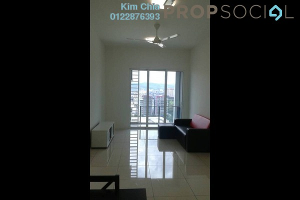 For Rent Serviced Residence at EcoSky, Jalan Ipoh Freehold Semi Furnished 2R/2B 2k