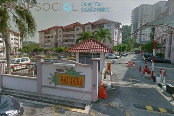 For Sale Apartment at Taman Sungai Besi Indah, Seri Kembangan Freehold Unfurnished 0R/0B 280k