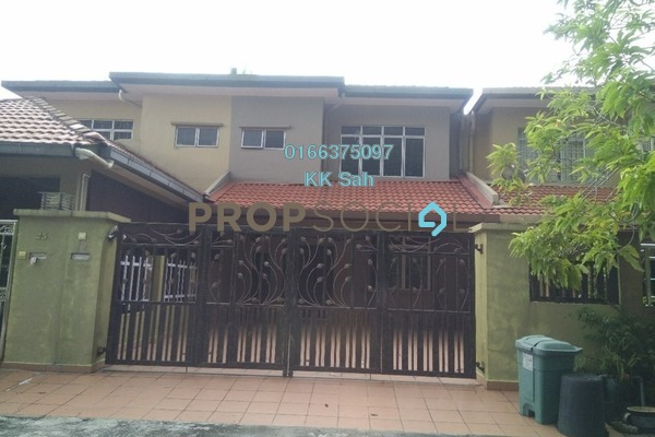 For Sale Terrace at Bandar Damai Perdana, Cheras South Freehold Semi Furnished 4R/3B 680k