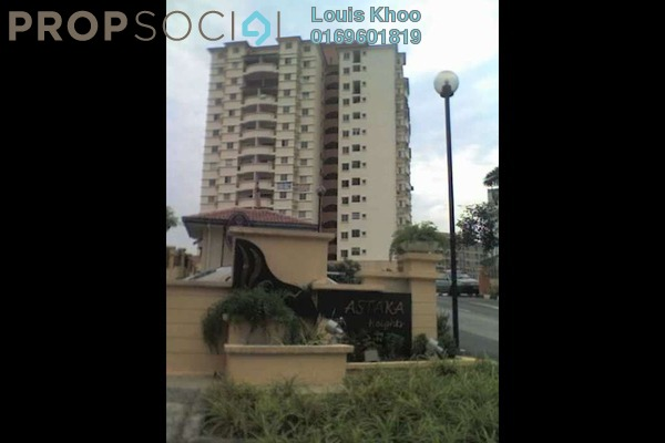 For Sale Condominium at Astaka Heights, Pandan Perdana Freehold Semi Furnished 3R/2B 420k