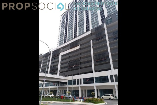 For Rent Condominium at Landmark II, Bandar Sungai Long Freehold Semi Furnished 3R/2B 1.7k
