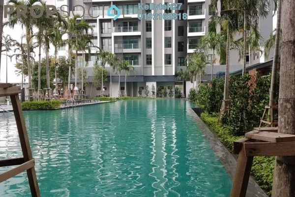 For Rent Condominium at CitiZen 2, Old Klang Road Freehold Semi Furnished 3R/2B 1.9k