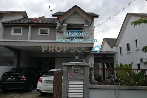 For Sale Semi-Detached at Dataran Suria, Puncak Alam Leasehold Semi Furnished 4R/3B 490k