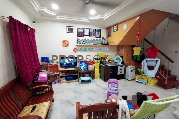 For Sale Terrace at Taman Mesra , Klang Freehold Semi Furnished 3R/2B 355k