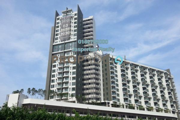 For Rent Condominium at Univ 360 Place, Seri Kembangan Freehold Unfurnished 3R/2B 1.3k