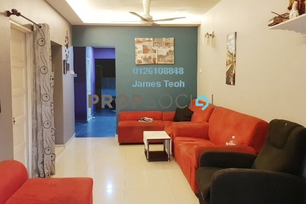 For Sale Terrace at Taman Chi Liung, Klang Freehold Semi Furnished 3R/2B 465k