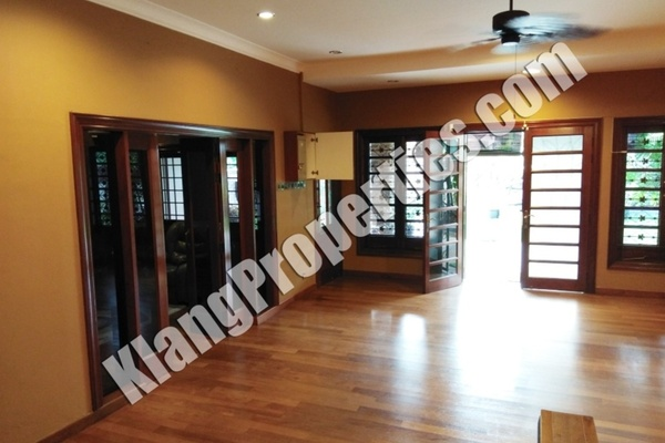 For Rent Semi-Detached at Taman Melawis, Klang Freehold Fully Furnished 5R/4B 3.2k