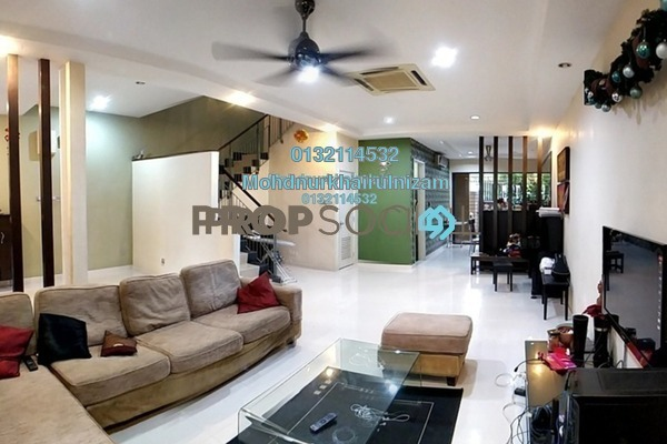 For Sale Terrace at Taman Esplanad, Bukit Jalil Freehold Semi Furnished 5R/4B 1.8m