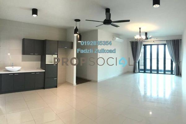 For Rent Condominium at The Reach @ Titiwangsa, Setapak Freehold Semi Furnished 3R/3B 3.3k