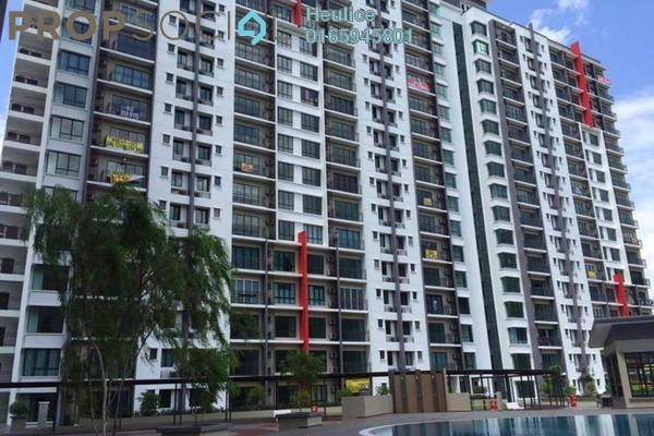 For Sale Condominium at V-Residensi, Selayang Heights Leasehold Semi Furnished 3R/3B 488k