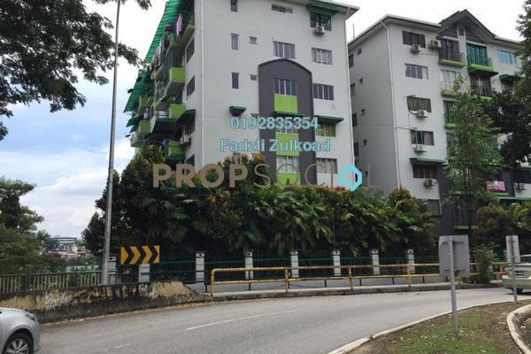 For Rent Apartment at Vista Wira 1 & 2, Wangsa Maju Freehold Semi Furnished 3R/2B 1.55k