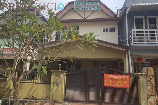 For Sale Terrace at Taman Mulia, Bandar Tun Razak Freehold Semi Furnished 4R/3B 838k