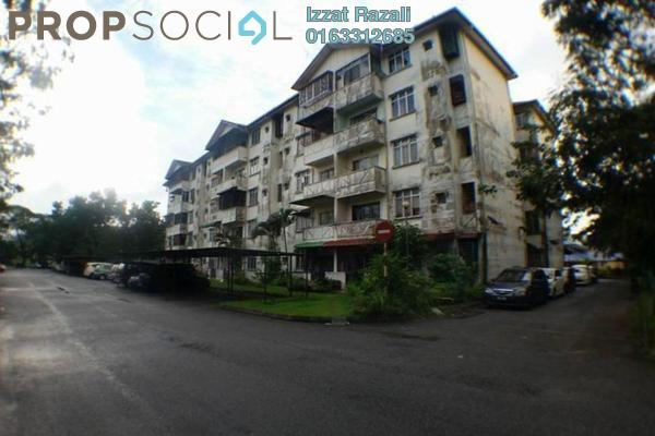 For Sale Apartment at Taman Desa Sentosa, Bangi Freehold Unfurnished 3R/2B 125k