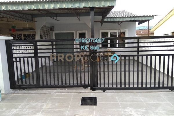 For Sale Link at Taman Sentosa Perdana, Klang Freehold Semi Furnished 3R/2B 356k