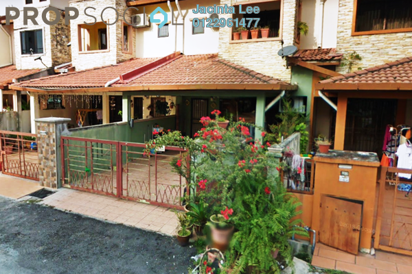 For Sale Terrace at Taman Bayu Perdana, Klang Freehold Semi Furnished 4R/3B 401k