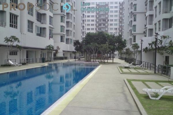 For Rent Apartment at Casa Tiara, Subang Jaya Freehold Fully Furnished 3R/2B 2.6k