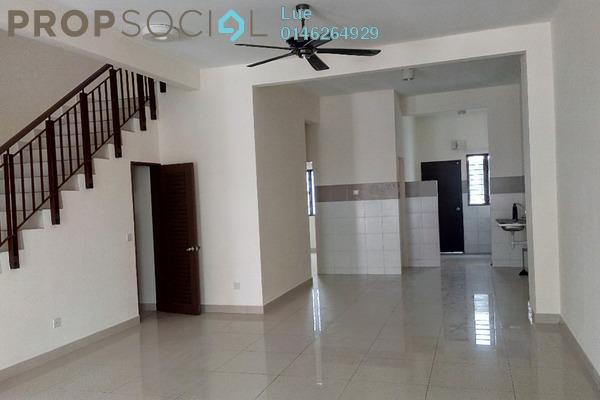 For Sale Terrace at Setia Indah, Setia Alam Freehold Semi Furnished 4R/3B 730k