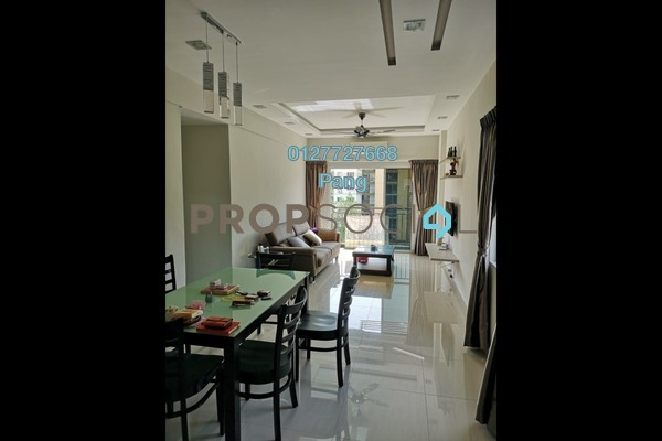 For Sale Apartment at Tiara Hatamas, Cheras Freehold Fully Furnished 3R/2B 498k
