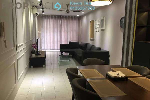 For Rent Condominium at Laman Suria, Mont Kiara Freehold Fully Furnished 2R/2B 3.1k
