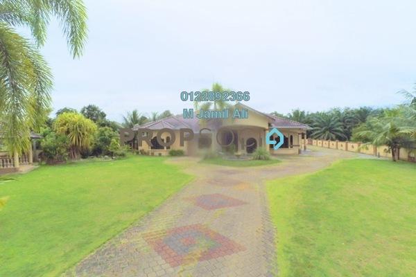 For Sale Bungalow at Kampung Jawa, Segamat Freehold Semi Furnished 9R/5B 800k