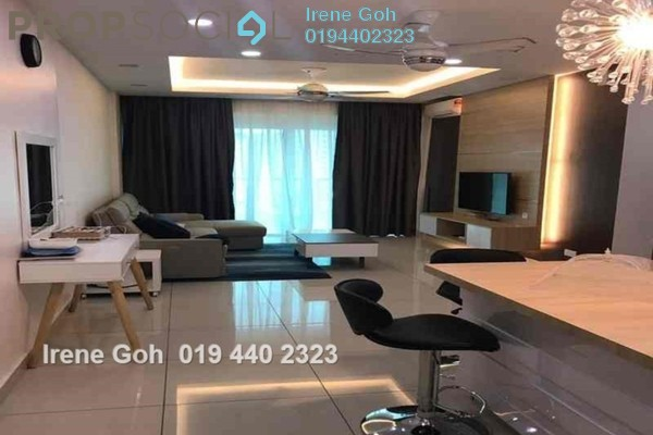 For Rent Condominium at Tropicana Bay Residences, Bayan Indah Freehold Fully Furnished 3R/2B 2.6k