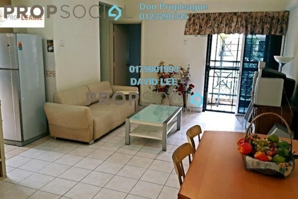 For Rent Condominium at Pelangi Damansara, Bandar Utama Freehold Fully Furnished 3R/2B 1.5k