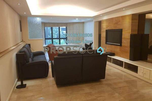 For Sale Condominium at Sri Kenny, Kenny Hills Freehold Fully Furnished 4R/3B 1.55m