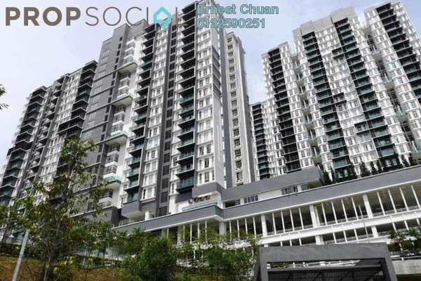 For Sale Condominium at Green Residence, Cheras South Freehold Semi Furnished 3R/3B 730k